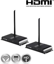 164ft 1080p Wireless HDMI Extender Kit AV Transmitter Receiver Video Audio FHD