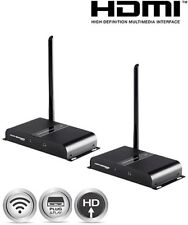 164ft 1080p Wireless HDMI Extender Kit AV Transmitter Receiver Video Audio FHD