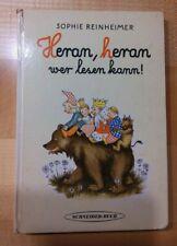 * Altes Bilderbuch * Heran, heran wer lesen kann * Schneider Buch *