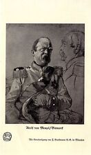 Adolf di Manzel Bismarck storico d'arte di stampa del 1914