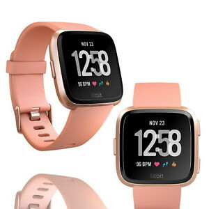 Fitbit Versa 2 Fitness Tracker Activity Heart Rate Monitor Rose Gold Smartwatch