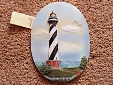 Collectible 3D Cape Hatteras, North Carolina Lighthouse Plaque Wall Hanging