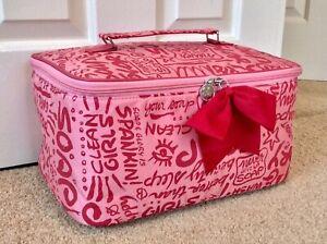 Soap & Glory Vanity Make Up Case Weekend Bag Travel Large