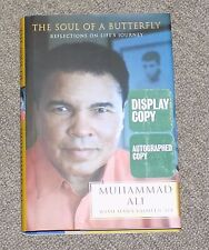 MUHAMMAD ALI AUTO AUTOGRAPH SIGNED BOOK SOUL OF A BUTTERFLY GAI GLOBAL