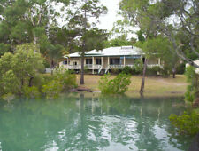 Absolute Waterfront 5 Acres House with large shed in Toogoom Qld