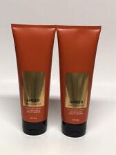 x2 Bath & Body Works Men Amber Ultra Shea Body Cream