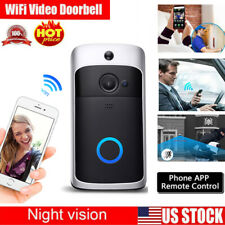 WiFi Wireless Doorbell Video Two-Way HD Talk Smart PIR Door Bell Security Camera