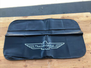 Vintage Original Ford Thunderbird Fender Cover For Working On Car 1960's