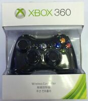 Genuine Wireless Game Controller For Microsoft Xbox 360 Gamepad Black US Stock