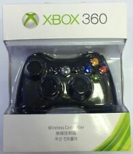 Genuine Wireless Game Controller For Microsoft Xbox 360 Gamepad Black US #T