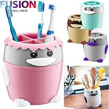 STATIONARY TOOTHPASTE COSMETIC HOLDER DESKTOP ORGANISER HOME OFFICE TIDY STORAGE