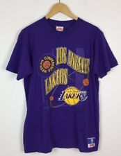 Vintage Retro 90S Brillo Loco Usa Fresh Prince Los Angeles Lakers NBA Camiseta Top