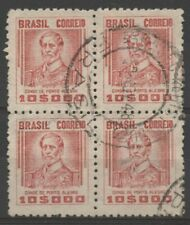 No: 75817 - BRAZIL - AN OLD BLOCK OF 4 - USED!!