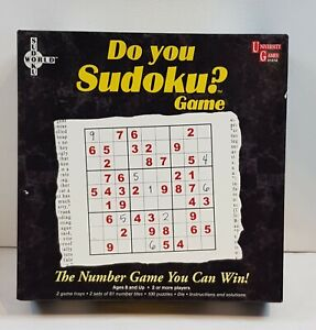 Do You Sudoku Number Puzzle Game by University Games