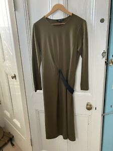 Jeager Ladies dress, Wrap Style Large Flattering 14-16