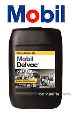 MOTORE 20L MOBIL DELVAC MOTOR OIL 10W40 API CF ACEA E4/B4/B3 Heavy Duty Truck