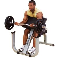 Body-Solid Preacher Curl Bench GPCB329 | Arm Curl - Bicep Curl Workout