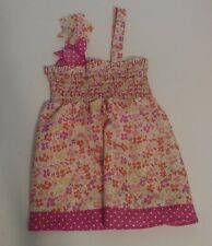 Candy Hearts By Heartstrings Floral Tank Top Kids Sz 4