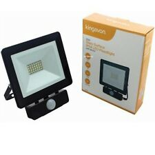 20w Glass Surface Ip54 LED Aluminium Floodlight Light Outdoor Lamp PIR Sensor