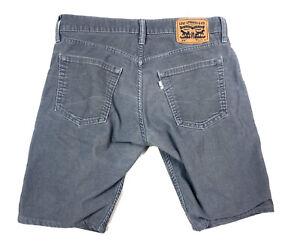 Levi's 514 Corduroy White Tab Shorts Men's Size 32 X 32