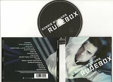 "ROBBIE WILLIAMS CD ""RUDEBOX"" 2006 EU EMI SHE'S MADONNA TAKE THAT PET SHOP BOYS"