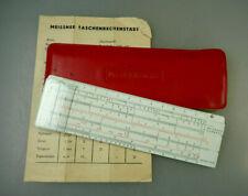 Meissner KG: Taschenrechenschieber Darmstadt um 1960 (64430)