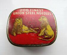 Rare Lions Union Steel Needle Tin Gramophone  Phonograph HMV etc