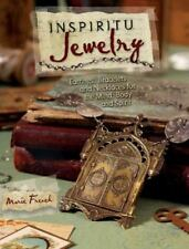 BK137 INSPIRITU JEWELRY Soft Cover Book By Marie French New in Shrink Wrap