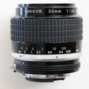 Nikon (Nikkor) 35mm f/1.4 Ai-S lens in very good user condition