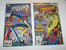 Amazing Spiderman #398 and #399 - Marvel NM+ range issues (Jackal cover & issue)