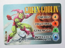 1996 MARVEL OVERPOWER CCG - IQ - HERO CARDS - ( LISTING 1 of 3 ) - PICK ONE