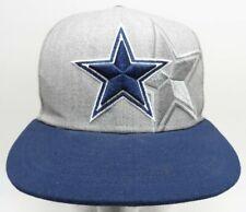 NFL Dallas Cowboys Hat New Era 59FIFTY Cap Gray FITTED Hat Size 7 Tre Boston Cap