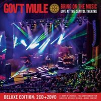 Gov't Mule - Bring on the Music- New 2CD/2DVD