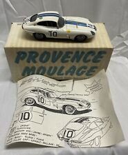 PROVENCE MOULAGE 1/43 JAGUAR E RACER 3 of 90 SIGNED w/ BOX