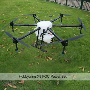 6Axis Agriculture Drone Frame Kit 1650mm Load 16KG W/ Power System For DJI M10