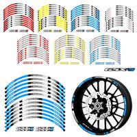 Motorcycle stripes Wheel Hub Rim Strip Sticker Decal For SUZUKI GSXS GSX-S