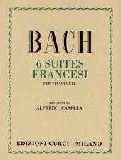 Bach - 6 SUITES FRANCESI - Rev. Casella - Edizioni Curci