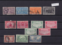 U.S.A.  STAMPS ON STOCK CARD  REF R 1357
