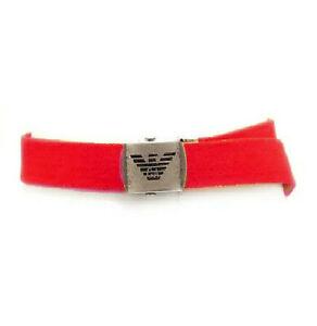 Emporio Armani Junior Cintura 4818V Belt Red S