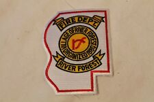 Fire Patch  Village of River Forest Fire Dept.