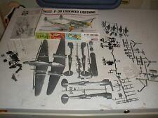 Vintage Monogram 1/48 #6848 P-38 Lockheed Lightning Never Assembled
