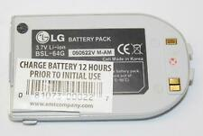 LG BSL-64G 3.7V Standard Li-Ion Cellphone Battery Pack for C1300 G4015 G4020
