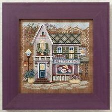 10% Off Mill Hill Spring Series Main Street X-stitch/Bead Kit-Millinery Shop