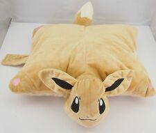 Pokemon Eevee Bed Sofa Pillow 16 inchTransforming Cushion Plush Soft