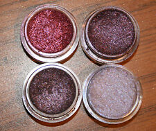 MINERAL MAKEUP~BARE~4~EYESHADOW~LOOSE POWDER~MICA~PURPLE~PLUM~SHIMMER