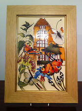 Moorcroft Chartwell Plaque MIB First Quality limited edition Churchill