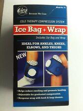 "Ice Bag Wrap Cold Therapy 9"" Pain Knee Hoot Head Relief Sprain Strain Leg CARA"