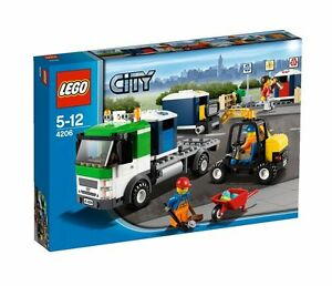 Lego City Recycling Truck 4206 ☆Brand NEW & Sealed☆ Retired RARE Mint Box