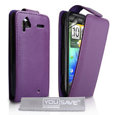 Accessories For The HTC Sensation PU Leather Flip Case Cover Skin & Screen Film