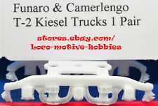 Funaro F&C T-2  Heavy Duty Pennsylvania Freight PRR 3F-F1  KIESEL 6-Wheel TRUCKS
